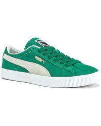 Puma Select Suede Vtg - Green