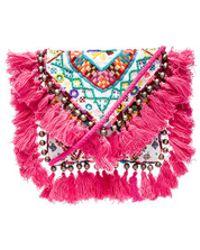 Shashi Tatiana Clutch - Multicolour
