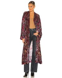 Free People Enchanted Robe - Red