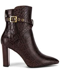 PAIGE Camille Bootie - Brown