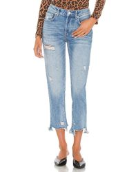 Free People - Good Times Relaxed スキニーデニム - Lyst