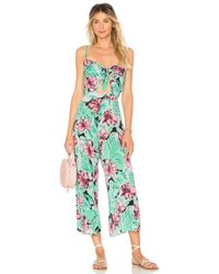 Cleobella - Angelina Jumpsuit In Green - Lyst