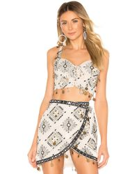House of Harlow 1960 - X Revolve Goldie Crop - Lyst