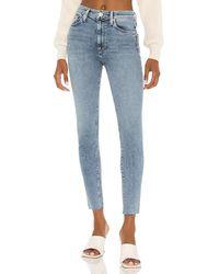 Hudson Jeans Barbara high waist super skinny ankle - Azul