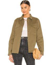 superdown Куртка На Пуговицах Corinne В Цвете Оливковый - Зеленый