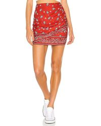 superdown Darby Mini Skirt - Red