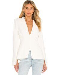 Amanda Uprichard Dovima blazer - Blanco