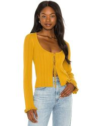 House of Harlow 1960 X Sofia Richie Bree Jumper - Yellow