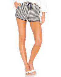 Splendid - Fisherman Stripe Shorts - Lyst