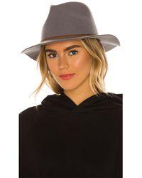 Brixton Шляпа Wesley В Цвете Серый