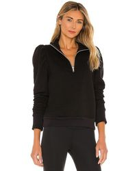 Strut-this Poppy Sweatshirt - Black