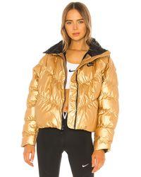Nike Metallic Puffer Jacket