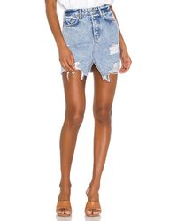 GRLFRND Elisa スカート. Size 26,27,28,29. - ブルー