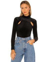 h:ours Gen Bodysuit - Black