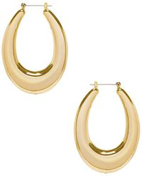 Luv Aj - The Ravenna Hoops In Metallic Gold. - Lyst