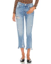 Free People Good Times Relaxed Jean - Blue