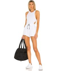 Free People X fp movement blissed out romper - Blanco