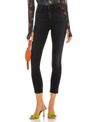 Mother High waisted looker ankle - Negro