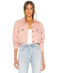 Lovers + Friends Sydney Jacket - Pink
