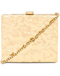 Amber Sceats Crushed Gold Bag - Mettallic