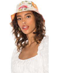 For Love & Lemons Julep Bucket Hat - Pink