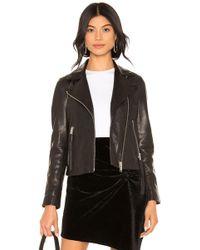 AllSaints Куртка Dalby В Цвете Черный