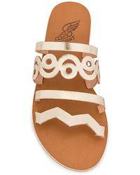 Ancient Greek Sandals Сандалии Meltemi В Цвете Платина - Многоцветный