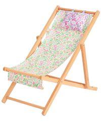 LoveShackFancy Слинг Стул В Цвете Strawberry Sugar & Misty Lilac - Многоцветный