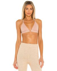 Free People X Revolve Oh Scuba Bralette - Natural