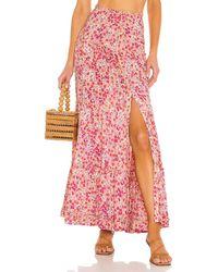 Poupette India Maxi Skirt - Pink