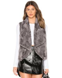 BB Dakota - Jack By Big Softy Faux Fur Vest - Lyst