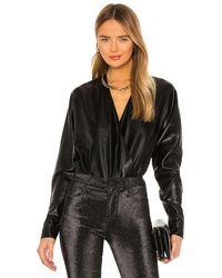 RTA Alya Bodysuit - Black