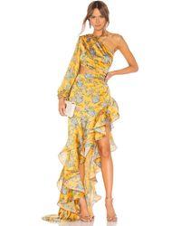 Bronx and Banco Hanna Gown - Yellow