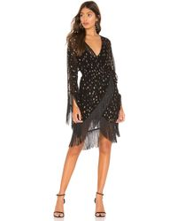 Michael Costello X REVOLVE Naia Dress - Schwarz