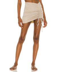lovewave The Sandra Mini Skirt - Metallic