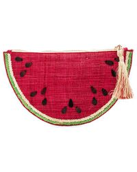 Kayu - Frutta Clutch In Red. - Lyst