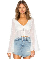 Lovers + Friends - Lily Top - Lyst