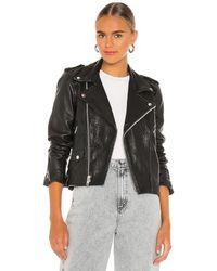 Urban Outfitters Slick ジャケット - ブラック