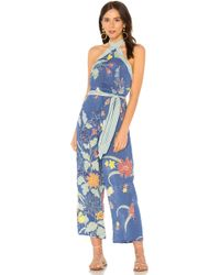 Cleobella - Marna Jumpsuit In Blue - Lyst