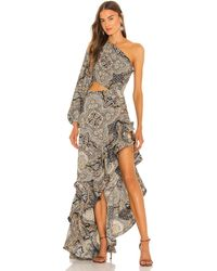 Bronx and Banco Paisley Gown - Natur