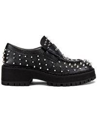 Steve Madden Malvern Studded Loafer - Black