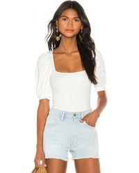 LPA Bria Bodysuit - White