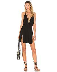 Indah - Harlem Layered Mini Dress In Black - Lyst