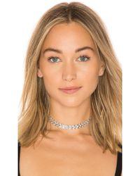 Amber Sceats - Isla Choker In Silver. - Lyst