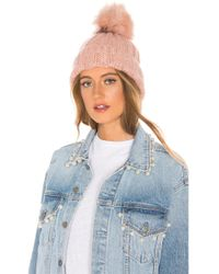 Hat Attack Slouchy Rib Beanie - Pink