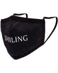 GRLFRND MASQUE VISAGE SMILING - Noir