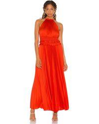 BCBGMAXAZRIA Вечернее Платье В Цвете Вишнево-томатный - Красный