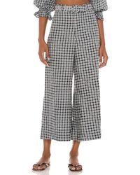 Faithfull The Brand Lissandra Wide Leg Trousers - Black