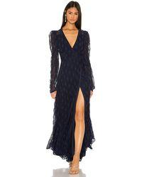 Tularosa Kylo Wrap Dress - Blau