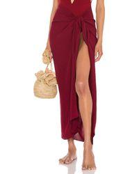 Haight Panneaux Skirt - Mehrfarbig